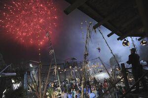 Terra Nova fireworks