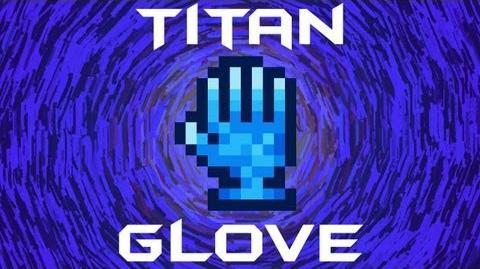 Titan Glove Terraria HERO