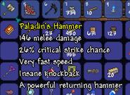 Terraria Pala Hammer