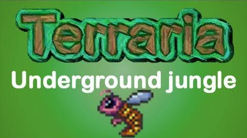 Terraria - How to find the Underground Jungle