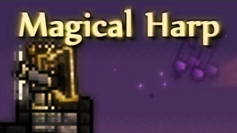 Terraria - Magical Harp, how to craft and use
