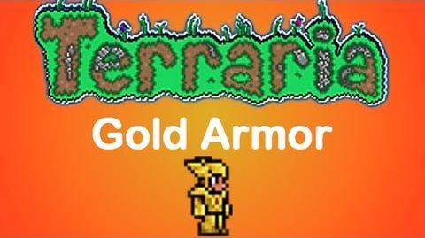 Terraria Gold Armor