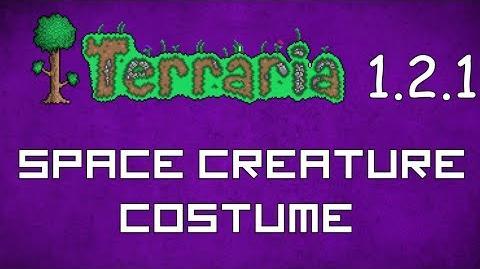 Space Creature Costume - Terraria 1.2