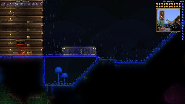 File:Glowing Mushroom House.jpg