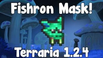 Duke Fishron Mask - Terraria 1.2