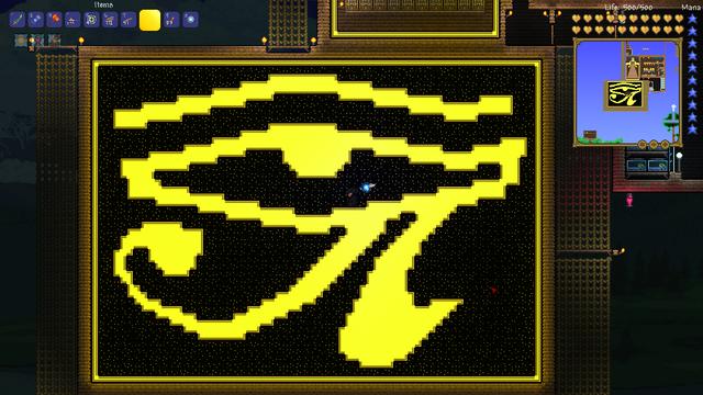 File:Eye of Ra, made of Topaz Gemstone Blocks.png