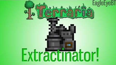 Terraria Extractinator Turns useless items into riches! Help and Howto!