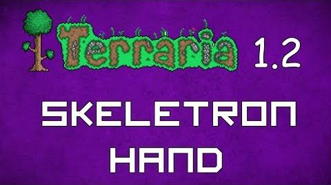 Skeletron Hand - Terraria 1