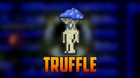 Terraria - Truffle & my Mushroom Biome