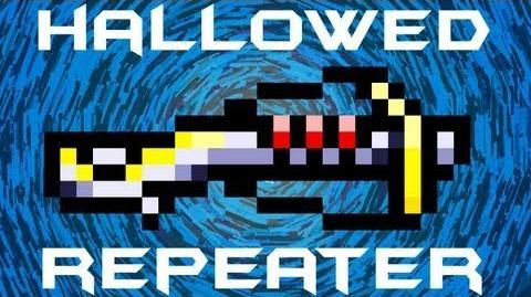 Hallowed Repeater Terraria HERO