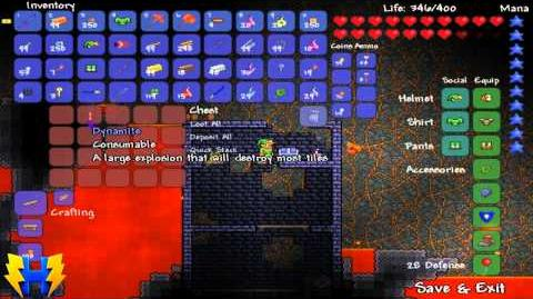 Terraria Shadow Key and Shadow Chest