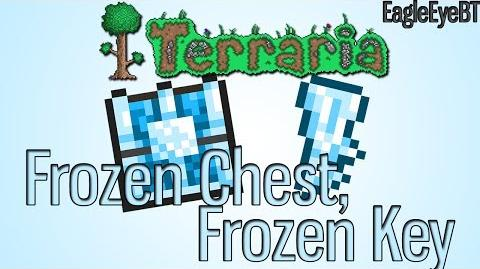 Terraria Frozen Chest Plus the bit's with it! Help and Howto!