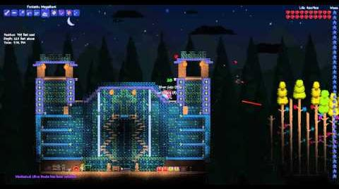 Играю в Terraria. Avalon mod. Bosses mix