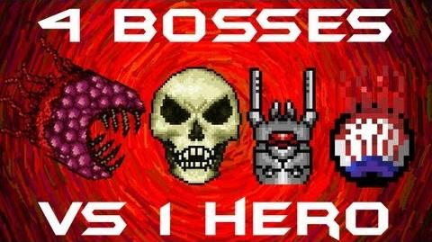 Video All 4 1 1 Bosses Solo Skeletron Prime The