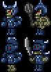 Blue Armored Bones