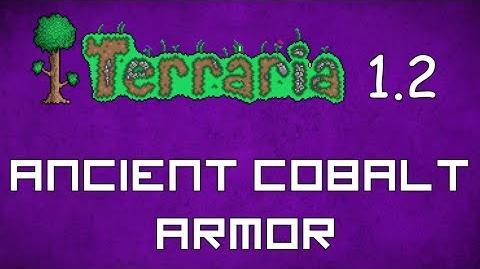 Ancient Cobalt Armor - Terraria 1.2 Guide New Old Armor Set!