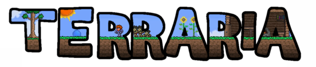 File:Terraria fan made logo.png