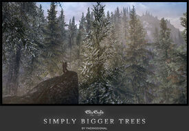 Skysight - Simply Bigger Trees - Title