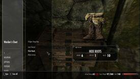 Helgen Beginners Armor boots