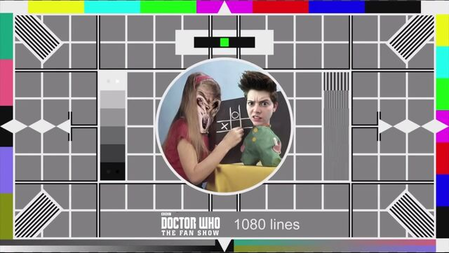 File:BBC Test Card Doctor Who The Fan Show.jpg