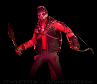 Cannibal sniper tf2 freak by spychedelic-d7a6h1x