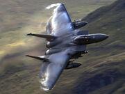 F-15 Eagle black