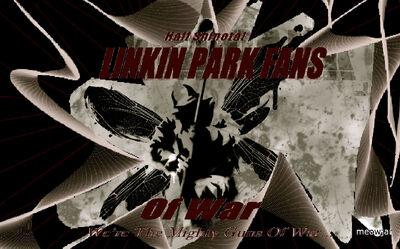 Linkin Park Fans Of War Flag2