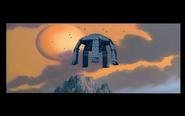 Robot Kingdom Spaceship Landing