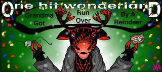 Grandma Got Run Over by a Reindeer by krin
