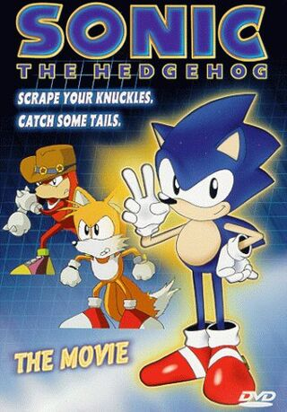 Sonic DVD cover