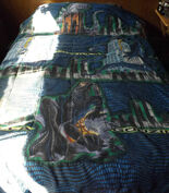 Vintage 1998 Godzilla Twin Comforter & 2 Pillow Cases2