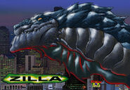 Zilla 01 by NickDraw