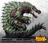 Kaiju combat grimmgarl by kaijusamurai-d60wxcw