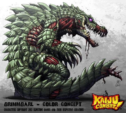 File:Kaiju combat grimmgarl by kaijusamurai-d60wxcw.jpg