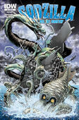 Retailer incentive cover for GODZILLA rulers of earth