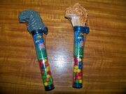 Flix Godzilla and Baby Godzilla 1998 Tart Candy Treats, Pez, gamera