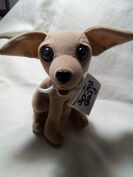 Yo Quiero Taco Bell Chihuahua Dog Toy Plush Here Lizard Lizard Godzilla 1998