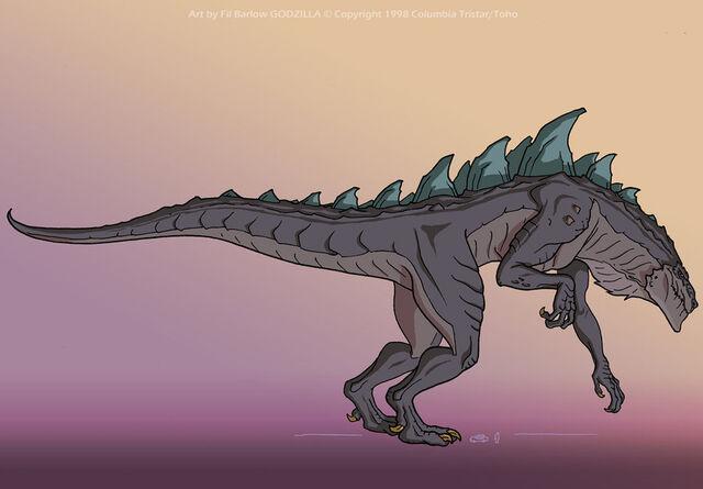 File:Godzilla side view by filbarlow-d3k4w50.jpg