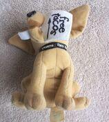 Yo Quiero Taco Bell Chihuahua Dog Plush Here Lizard.. Godzilla 1998 +a Keychain10