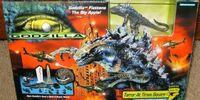 Godzilla - Terror At Times Square Playset (Micro Battle World)