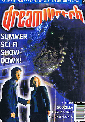 File:X-FILES GODZILLA LOST IN SPACEDreamwatchno.48August1998.jpg