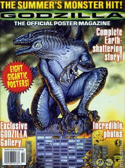 Godzilla The Official Poster Magazine