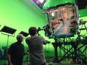 Legendary Godzilla Train GreenScreen
