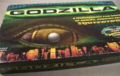 GODZILLA SQUISHING PLAY DOH GAME - Milton Bradley 1998 - Excellent Condition!