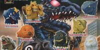 Godzilla Sofubi Collection 1