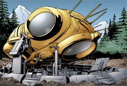 Spideralientransportvessel