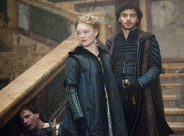 File:006 The Gunpowder Plot episode still of Lucrezia Borgia and Alfonso of Aragon.jpg