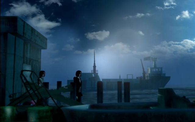 File:Susan and shadow on dock.png