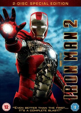 Iron man 2 DVD 2 disc special edition