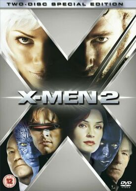 X-men 2 two-disc special edition DVD